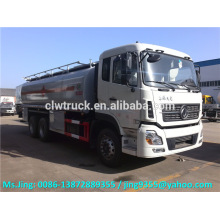 2015 New Condition and Euro IV Dongfeng TianLong 6x4 oil tanker,23-25cbm heavy oil tanker truck price