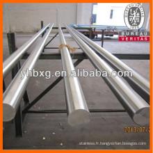 Première qualité duplex 1.4462 ronde en fil d'acier