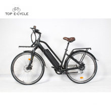 Retro full waterproof cable e bike electric bike bicycle for woman