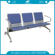 Fauteuil d'attente d'hôpital en acier de roulement à froid de chaise d'hôpital d'AG-Twc002