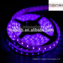 Bande pliante pliable couleur pourpre led lampe décorative légère 3528