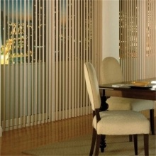 Motorized Vertical Sheer Fabric Shades