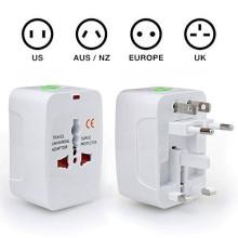 Universal viagens parede carregador AC Power Au UK nos UE Plug adaptador