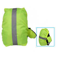 Reflective Polyester drawstring bag cover