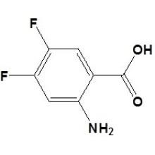 2-Amino-4, 5-Difluorobenzoïque Acidcas No. 83506-93-8