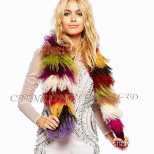 Billiga Wholesale Mongolian Lamb Fur Scarf