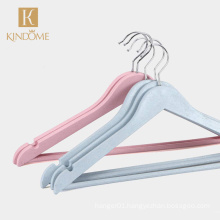 New hot sale colorful biodegradable clothes coat hangers