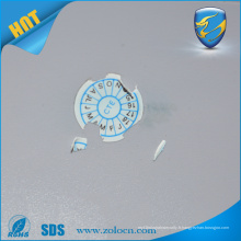 Autocollant d'étiquette anti-sabotage personnalisé Autodestructible, design de mode, étiquettes de vinyle de garantie
