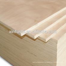 Poplar core okoume plywood