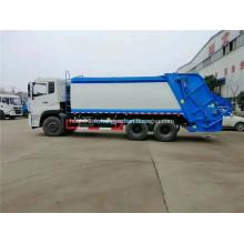 Dongfeng 6x4 camion à ordures chargeur hydraulique arrière