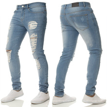 Fashionable Newest Commodity Fall Autumn Men Skinny Plus Size Pants & Jeans