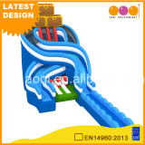 Hot commercial grade water park play toys inflatable water slide for adult,inflatable slide pool from China manufacturer