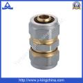 Acessório de acoplamento reto de latão com extremidades de compressão (YD-6056)