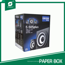 Benutzerdefinierte Falten / Glossy / Prägung / UV-Beschichtung Wellpappe Box