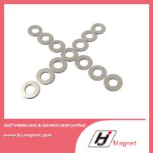 Vente chaude aimant de NdFeB anneau fabriqué selon ISO9001