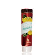 200 ml Limpar food grade tubo de plástico transparente banana tubo de embalagem de alimentos