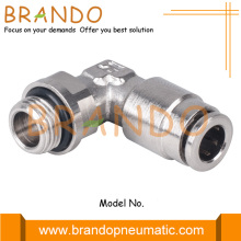 Male Thread 90 Degree Elbow Brass Pneumatic Fittings