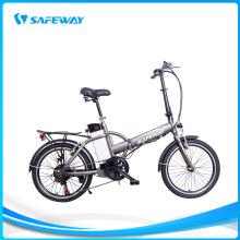 Straight girder steel frame folding electric bike