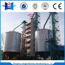 Continuous type rice grain dryer