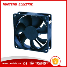Refroidisseur de ventilateur 80X80X25 DC, ventilateur de refroidissement par air 12V