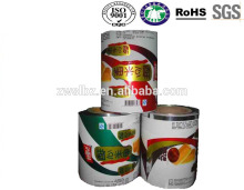 Custom printed plastic food bag,food plastic bag top quality plastic food packing roll film