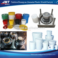 white bucket with blue cover plastic injection mould                                                                         Quality Choice