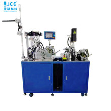 Automatic Nylon Zipper Top Stop and Slider Machine