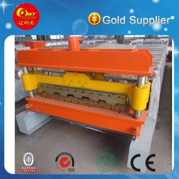 PLC Automatische Deckung Bodenblech Rollenformmaschine