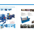 Профилегибочная машина для производства внутренних декоративных панелей