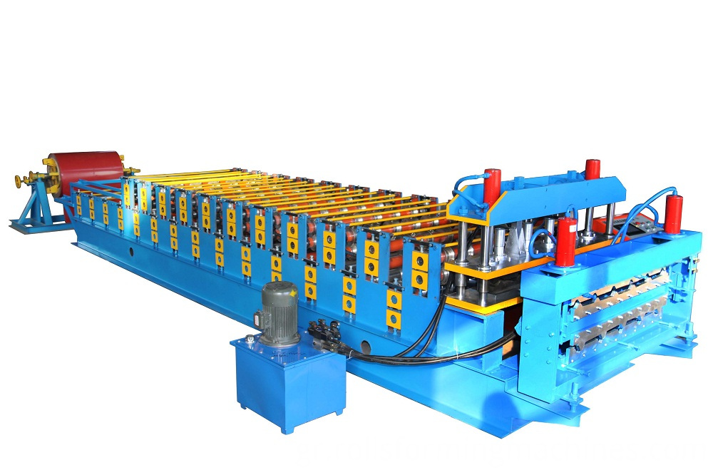 double layer roof panel roll forming machine 01