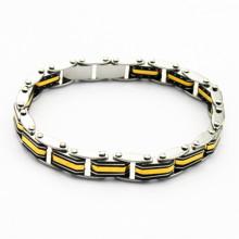Novo design em aço inoxidável jóias loja pulseira de design de interiores para os homens