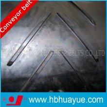 Speical Chervon Rubber Conveyor Belt Black Belt