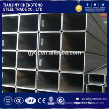 square tube weight 40*40 hollow welded ERW Q 235 steel square tube