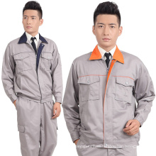 Ropa de trabajo de trabajo de seguridad de la chaqueta de trabajo de los hombres del OEM Ropa de trabajo uniforme de la ropa de trabajo