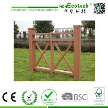 Водоустойчивый Eco-Содружественный напольный WPC перила