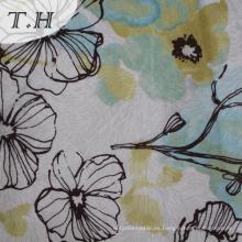Diseño moderno Digital Print Velvet Fabric