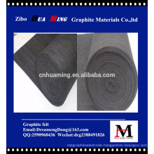 thermal insulation graphite felt soft/hard graphite felt
