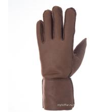 Модные перчатки из овчины с натуральной овечьей шкурой
