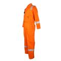 ropa de trabajo naranja llamas de seguridad resistentes a las llamas