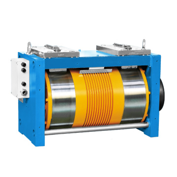 Ø265 Gearless Elevator Traction Machine, Magnet Permanen Synchronous Diana