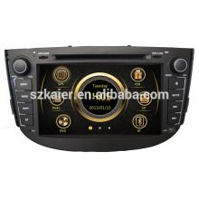 Manufacture dual zone wince car dvd for Lifan X60 with GPS/Bluetooth/Radio/SWC/Virtual 6CD/3G /ATV/iPod