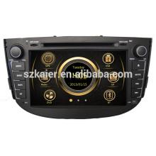 Производство двойной зоны вздрагивания автомобильный DVD для Lifan x60 с GPS/с Bluetooth/Радио/swc/фактически 6 КД/3Г /квадроциклов/ставку