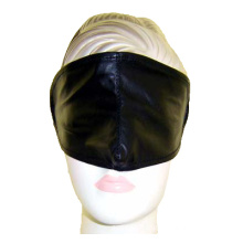 Black Eye Mask Adult Sex Toy in PVC or Leather Good Quality Sex Tool Paryt Mask