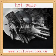 Nuevo estilo, señoras que usan guantes nobles