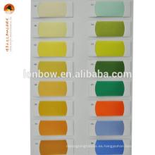 Tela de spandex viscosa de poliéster de colores para forro de traje