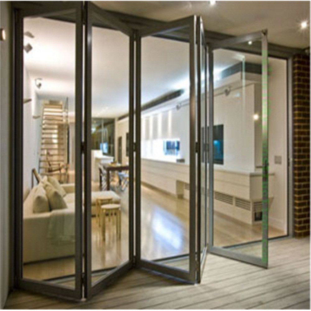 Double Glazing Bifold Aluminium Door