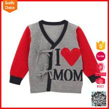 100% cotton fashion customized 24 month baby boy sweater