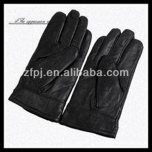 Patrón básico guantes de piel de oveja