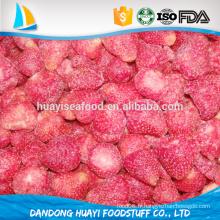 Fruits frais congelés, fraise organique congelée