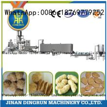 Extrusor vendedor caliente de la proteína del haba de soja
